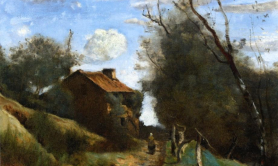 Camille Corot, Path Towards a House in the Countryside