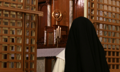 Image: Fr. Lawrence Lew, O.P., Dominican Nun in Adoration (used with permission)